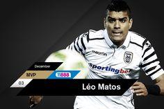 Διαλύοντας τον ανταγωνισμό ο Λέο Μάτος σάρωσε στον διαγωνισμό για την ανάδειξη του 11888 MVP Δεκεμβρίου και κατέκτησε εύκολα τον ατομικό τίτλο μετά την ψηφοφορία που διεξήχθη στο paokfc.gr και το PAOK FC Official App.