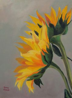 Two Sunflowers by Ohio artist Patty Sykes