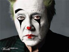 Evil Celebrity Clowns 11 - Worth1000 Contests.  Christopher Walken