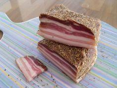 Poitrine de porc séchée pour lapéro