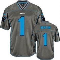Men s Nike Carolina Panthers  1 Cam Newton Elite Grey Vapor NFL Jersey 6f5af7dab