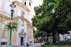 Servitenplatz – Downtown village feeling where many Jews, including Freud, were living before Nazi era. Vienna, Street View
