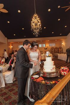 Jon Ragland Photography | Pittsburgh, Altoona, Johnstown, State College & Greensburg Wedding Photography | Cake Cutting | Magnolia Room | www.jonragland.com