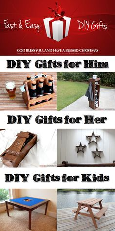 Fast & Easy DIY Holiday Gifts | Free Plans | Rogue Engineer