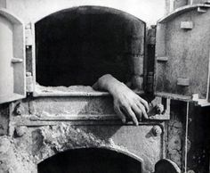 An unburned hand hanging from an crematorium oven serves as a stark reminder of the death and horror of the Nazi death camps. It is not a prop. This was at Stutthof, a reminder that the atrocities were not just at the more infamous concentration camps such as Auschwitz and Buchenwald.