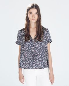 ZARA - WOMAN - COMBINATION PRINTED TOP
