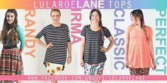 Lularoe shirt styles