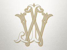 Finely crafted digital monograms by ShulerStudio on Etsy Monogram Design, Monogram Fonts, Monogram Letters, Monograms, Wedding Logo Design, Wedding Logos, Monogramm Alphabet, Bright Wallpaper, Vintage Monogram