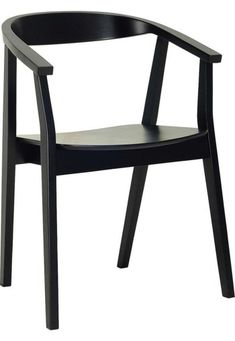 The Modern Furniture Range Includes The Greta Dining Chair - Ebony .