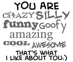 Goofy Best Friend Quotes   Myspace Graphics > Friends > you are crazy silly Graphic