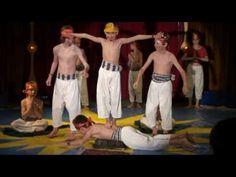Zirkusprojekt Rünenberg: Aufführung Teil 1 - YouTube