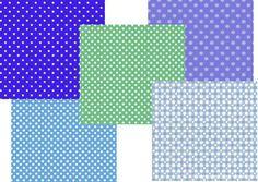 Muster zum Ausdrucken auf Papier. Für Bastelarbeiten, Einladungen, Briefe, ...