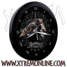 Reloj de parede de Alchemy Gothic - Saturnalius.