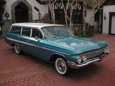 1961 Chevrolet Impala Nomad..... Didn't know they even made these