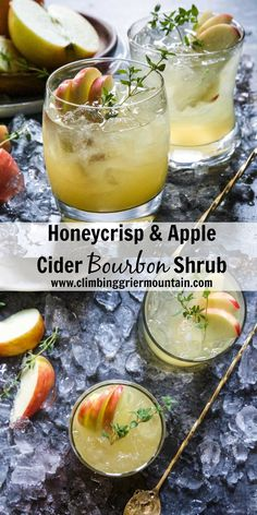 Honeycrisp & Apple Cider Bourbon Shrub is the perfect fall cocktail. Juicy, honeycrisp apples mixed with bourbon, fresh ginger, and kombucha is a delightful drink to sip on while enjoying the cooler weather! So, remember that post back in the beginning of August when I talked about all things peaches? And made this and this. …