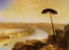 Turner, Joseph Mallord William: Rom, vom Monte Aventino gesehen (Rome, from Mount Aventine)