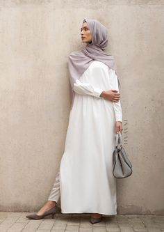 INAYAH | A modern take on crisp #shirt-inspired #maxis - Ivory Tailored #Maxi…