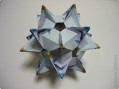 Kusudama Origami Master Class Kusudama Crystal Star Master Class Photo Paper 1