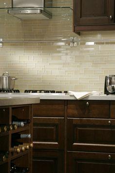 kitchen backsplash ideas Designer Gourmet Kitchen Trends www.OakvilleRealEstateOnline.com Find at : Ceramic Tile Supply 180 Roymar Road Oceanside, CA