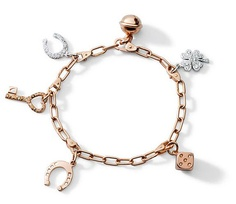 How cute is this Pomellato Charm Bracelet?