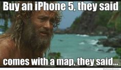 #funny apple iPhone maps got me lost before