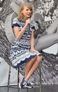 Taylor in Keds