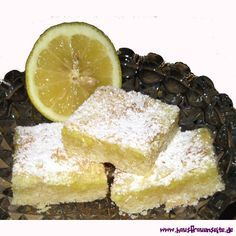 fruchtige Zitronenschnitten die fruchtige Zitronenschnitten gehen schnell und schmecken Großen und Kleinen! vegetarisch