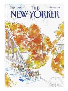 The New Yorker Cover - October 17, 1983 Poster Print by Arthur Getz at the Condé Nast Collection