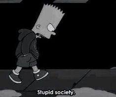 The Simpsons Grunge Sad Quotes, Movie Quotes, Qoutes, Daily Quotes, Simpsons Springfield, Memes, My Mood, Current Mood, The Simpsons