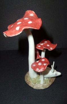 Ceramic toadstools £9.95