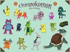 CHINPOKOMON by Blakem15192.deviantart.com on @DeviantArt