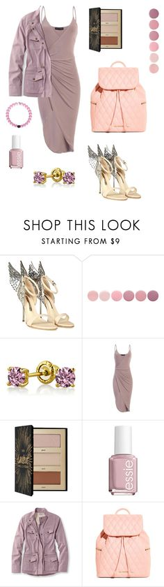 """""""Sweet Style"""" by kat-lasher ❤ liked on Polyvore featuring Sophia Webster, Deborah Lippmann, Bling Jewelry, Sephora Collection, Essie, L.L.Bean, Vera Bradley and plus size clothing"""