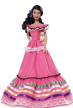 Barbie mexicana, ahora con pasaporte!