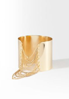 Make a statement with a darling glam cuff