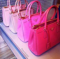 Pink Prada - Prada Backpack - Ideas of Prada Backpack - Pink Prada Prada Handbags, Purses And Handbags, Pink Handbags, Pink Purses, Prada Purses, Ladies Handbags, Coach Handbags, Hipster Vintage, Accessoires Iphone