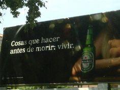 Heineken y sus originales vallas publicitarias. #excelenciaip