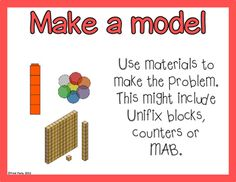 Mathematics Problem Solving Strategy Posters