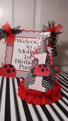 1st+Birthday+Party+Package++Ladybug+by+ASweetCelebration+on+Etsy,+$119.00