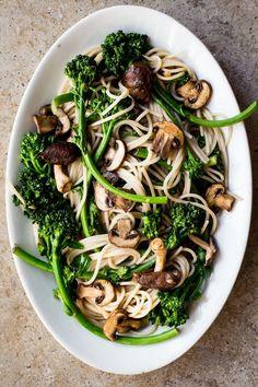 Spring Broccoli Rabe Pasta   Dishing up the Dirt