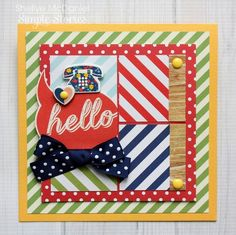 Card by design team member Shellye McDaniel