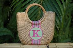 The Pink Monogram, Home to fine monogrammed gifts, and creators of the original monogrammed clogs. Over 5000 monogrammed gifts from bags to monogrammed jewelry. Baby Monogram, Monogram Gifts, Monogram Jewelry, Personalized Jewelry, Straw Handbags, Bridesmaid Gifts, Straw Bag, Preppy, Baby Gifts