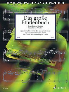 Das große Etüdenbuch: 100 schöne Etüden für den Klavierunterricht. Klavier. (Pianissimo) von Hans-Günter Heumann, http://www.amazon.de/dp/3795745446/ref=cm_sw_r_pi_dp_FDu3sb15Z4YZD