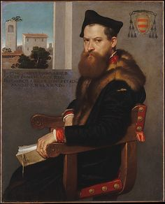 """Bartolommeo Bonghi"" - Giovanni Battista Moroni - c. 1554"