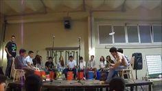 Percusión con Tachos - Ensamble Rítmico: Batucada.