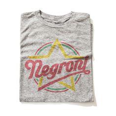 #Camiseta Negroni  A Camiseta negroni é uma criação da iTees ja que o drink com o mesmo nome e o favorito de alguns membros da nossa equipe. Vem ver a receita e o video de como preparar o melhor negroni no www.itees.com.br
