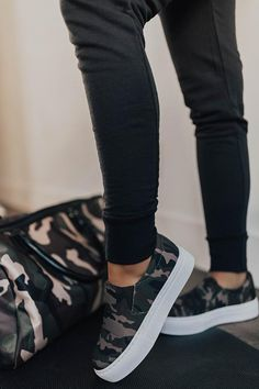 The Linden Camo Sneaker Platform Sneakers Outfit, Slip On Sneakers, Platform Tennis Shoes, Sneaker Heels, Sneakers Fashion, Fashion Shoes, Men's Fashion, Fashion Clothes, Fashion Outfits
