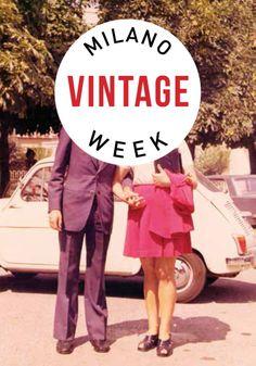 #Milano #Vintage #week dal 9 al 13 aprile la mostra mercato del vintage durante la settimana del Salone del Mobile.