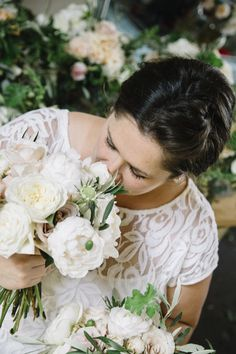 Taking time to smell the roses @ Royal Bloom California  Photo Credit Nicole Hoefer Photography