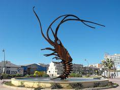 Monumento al langostino (Vinaroz)