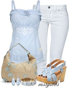 """Spring"" by mssgibbs on Polyvore"